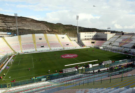Lo stadio San Filippo di Messina (INFOPHOTO)
