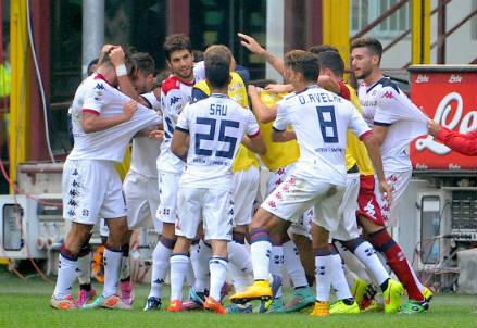 Uno dei ricordi belli di Zeman a Cagliari: l'1-4 a San Siro contro l'Inter (INFOPHOTO)