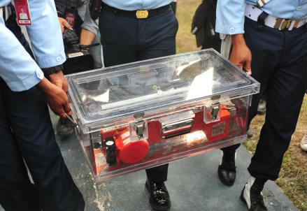 Una scatola nera (Infophoto)