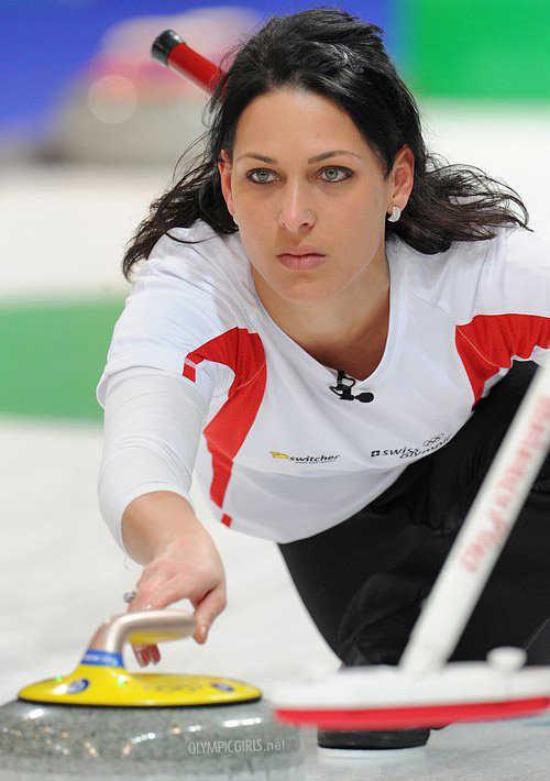 Carmen Schaefer, 32 anni, curler svizzera