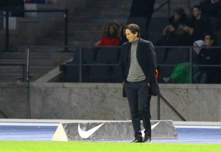 Il tedesco Roger Schmidt, 48 anni, allenatore del Bayer Leverkusen (INFOPHOTO)