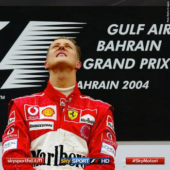 Michael Schumacher a Sakhir 2004