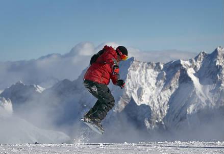 Bollettino Neve (Infophoto)