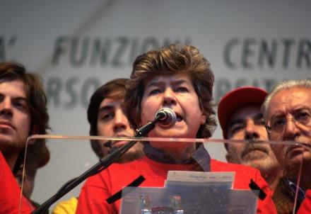 Susanna Camusso, segretario generale della Cgil (Infophoto)
