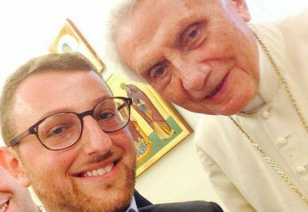 Benedetto, foto da Facebook