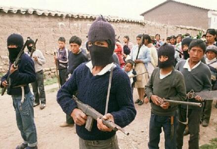 Guerriglieri peruviani