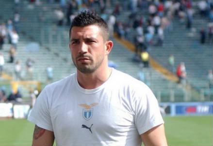 Matteo Sereni, 40 anni, qui ai tempi della Lazio (INFOPHOTO)