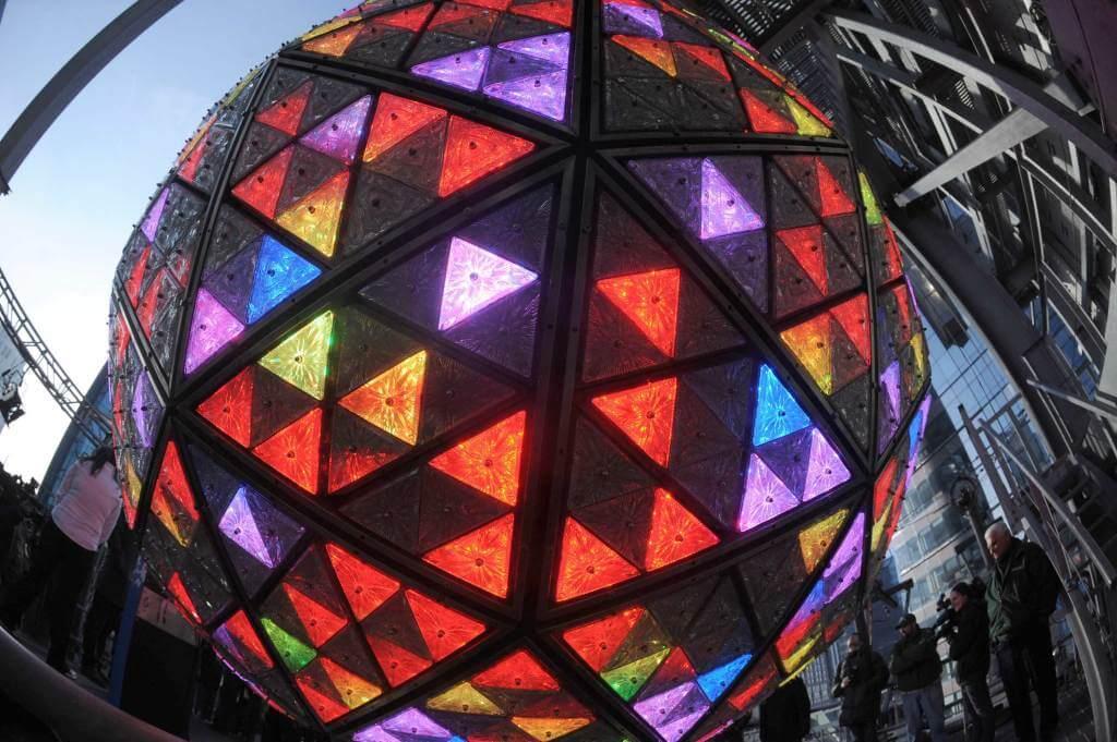La sfera a Times square (Foto: Infophoto)