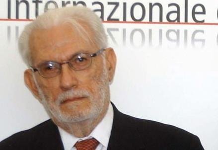 Manlio Sgalambro (1924-2014) (Infophoto)