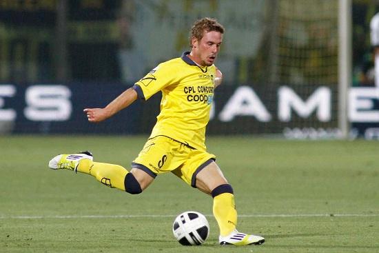 Francesco Signori, 26 anni, centrocampista del Modena (INFOPHOTO)
