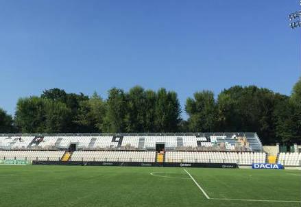 Lo stadio di Vercelli