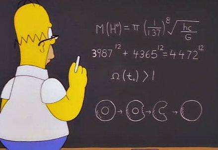 L'equazione dei Simpsons