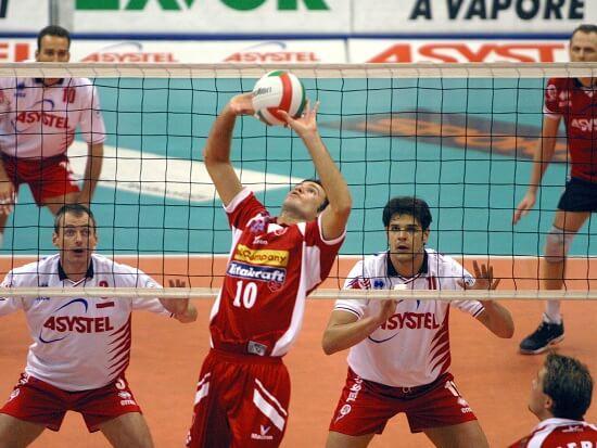 Giacomo Sintini in azione (Infophoto)