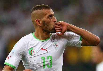 Islam Slimani, 26 anni (dal profilo Twitter ufficiale @FIFAWorldCup)