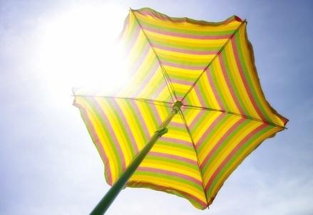 Il sole cocente d'estate (Foto: Infophoto)