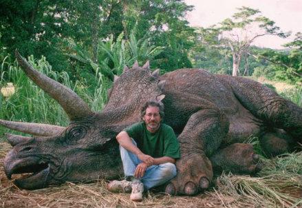 Spielberg e il dinosauro