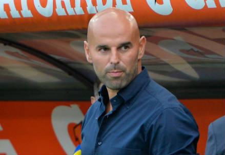 Roberto Stellone, 38 anni, allenatore del Frosinone (INFOPHOTO)