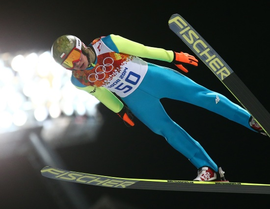 Kamil Stoch in azione (Infophoto)