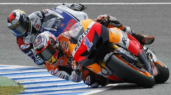 Casey Stoner parte in pole oggi ad Assen (Infophoto)