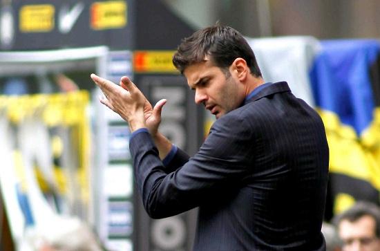 Andrea Stramaccioni, allenatore Inter (Infophoto)