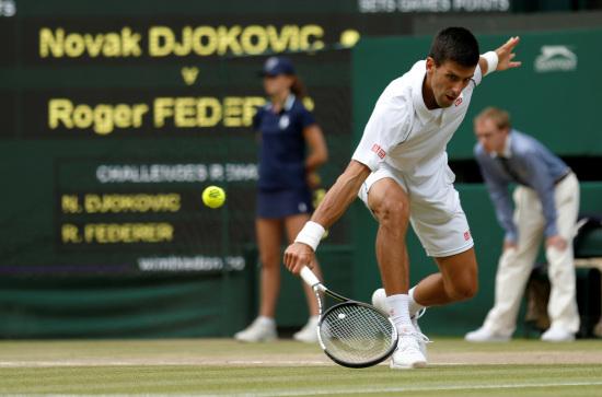 Novak Djokovic, 28 anni, serbo (INFOPHOTO)