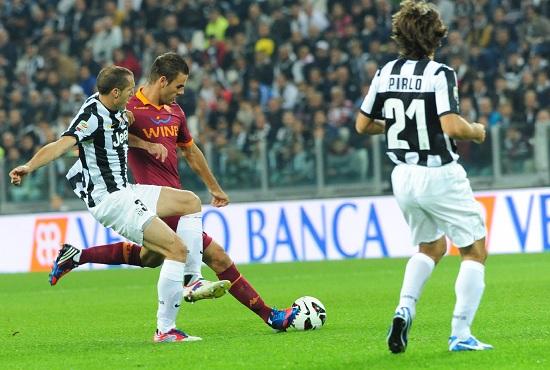 Un precedente fra Roma e Juventus (Infophoto)