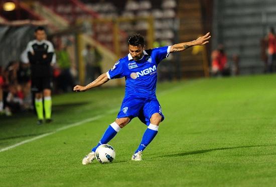 Il capitano dell'Empoli Francesco Tavano