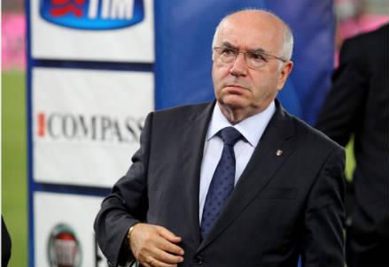 Carlo Tavecchio, 72 anni, presidente della FIGC (INFOPHOTO)
