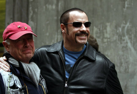 Tony Scott con John Travolta, foto Infophoto