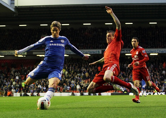 Fernando Torres, attaccante del Chelsea (Infophoto)