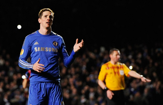 Fernando Torres, attaccante Chelsea (Foto Infophoto)