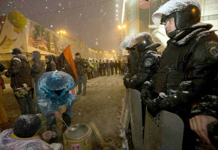Le proteste a Kiev