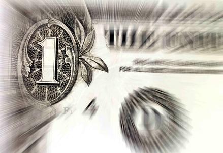 Una banconota da un Dollaro (Foto: Infophoto)