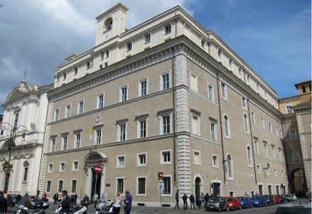 La Pontificia università di Santa Croce