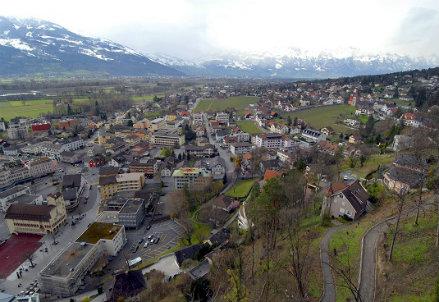 Vaduz (Liechtenstein), noto paradiso fiscale - Infophoto