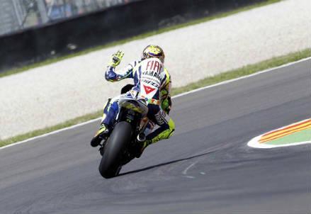 Valentino Rossi, pilota Yamaha (Infophoto)