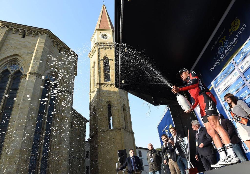 Greg Van Avermaet ad Arezzo alla Tirreno-Adriatico