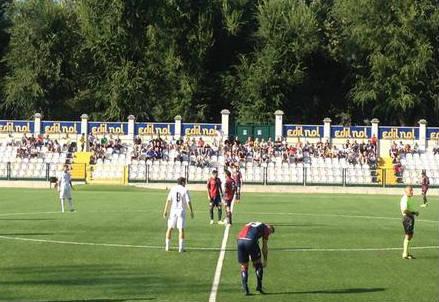 Lo stadio Silvio Piola di Vercelli (dall'account Twitter ufficiale @ProVercelli1892)
