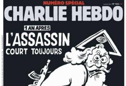 Charlie Hebdo, la copertina