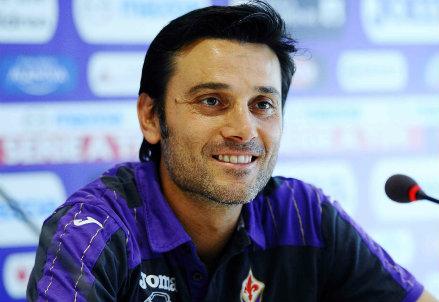 Vincenzo Montella, allenatore della Fiorentina (Infophoto)