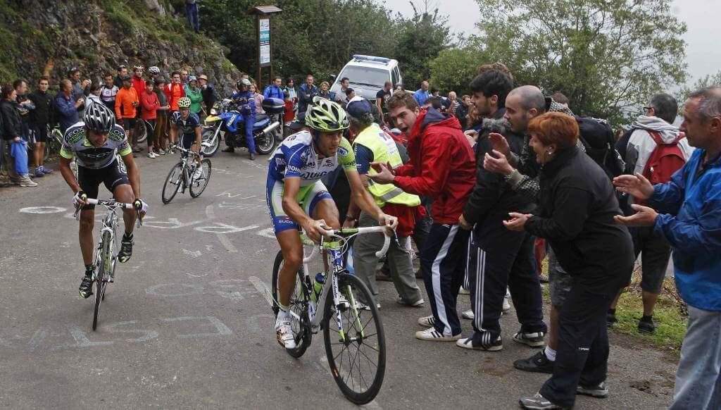 Vincenzo Nibali in azione (Infophoto)