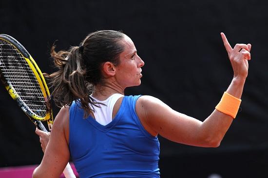 Roberta Vinci, 31 anni, numero 24 del ranking WTA (Infophoto)