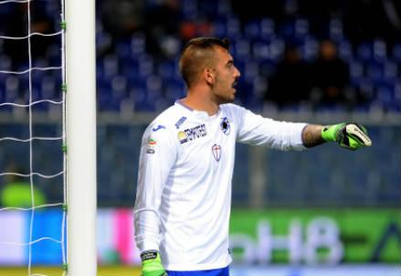 Emiliano Viviano, 30 anni, portiere della Sampdoria (INFOPHOTO)