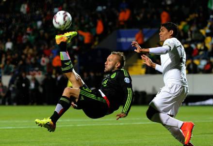 Vicente Matias Vuoso, 33 anni, attaccante del Messico (INFOPHOTO)