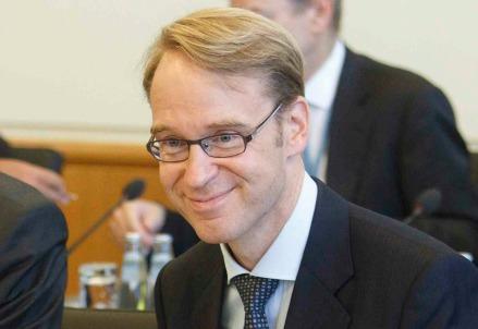 Jens Weidmann, presidente della Deutsche Bundesbank (Infophoto)