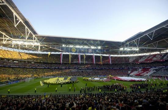 Lo stadio di Wembley (Infophoto)