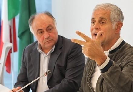 Domenico Zambetti (sin.), assessore di Regione Lombardia arrestato per corruzione (InfoPhoto)