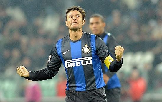 Javier Zanetti giocherà anche questa sera (Infophoto)
