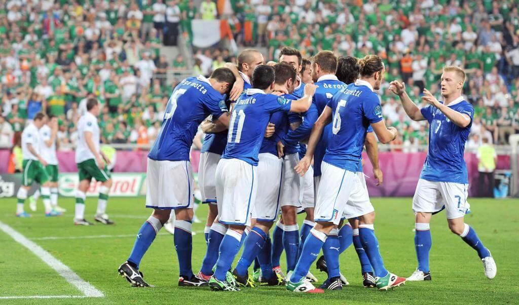 L'Italia esulta: è nei quarti di finale di Euro 2012