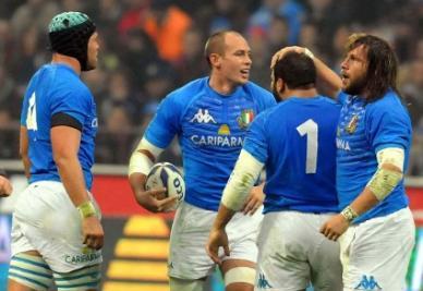 L'Italia del rugby chiamata a un'impresa a Cardiff (Infophoto)